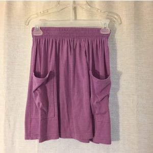 American Apparel Skirt with Pockets Size Small
